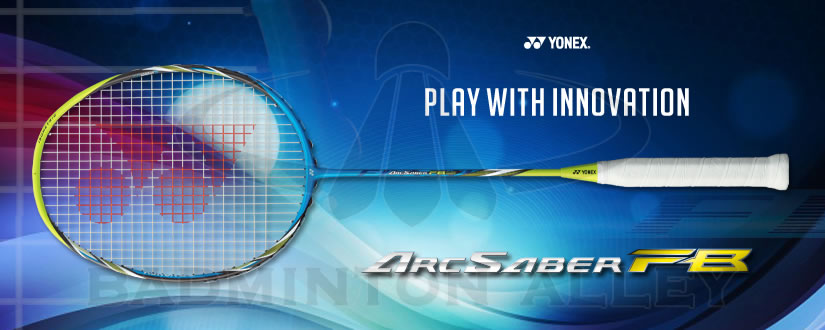 Yonex ArcSaber FB (Flash Boost) 73 grams Badminton Racket - Yonex Lightest Racket Ever.