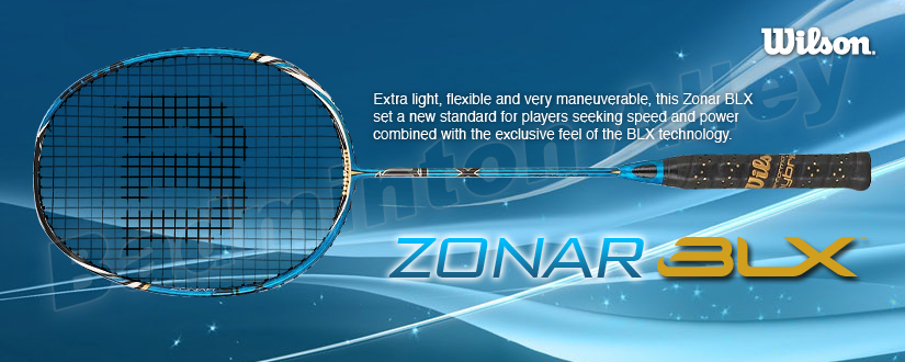 Wilson BLX Zonar Badminton Racket