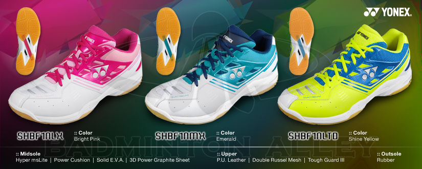 Yonex NEW F1 Neo LX MX LTD super light weight badminton shoes