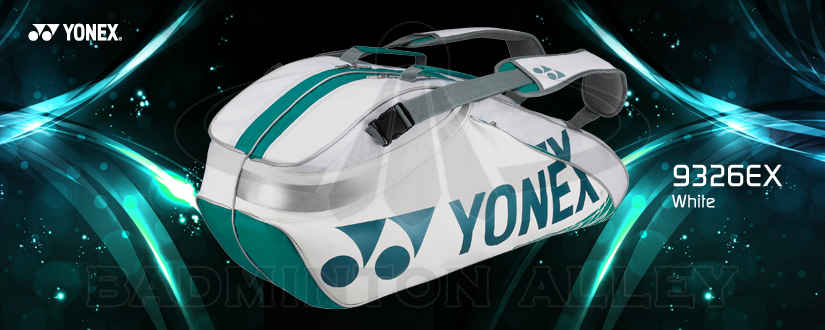 Yonex 9326EX White 2013 Racket Bag for Badminton and Tennis