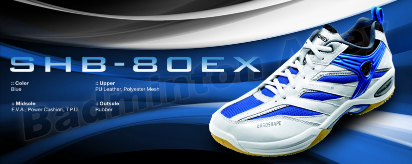 Yonex SHB-80EX Blue Badminton Shoes