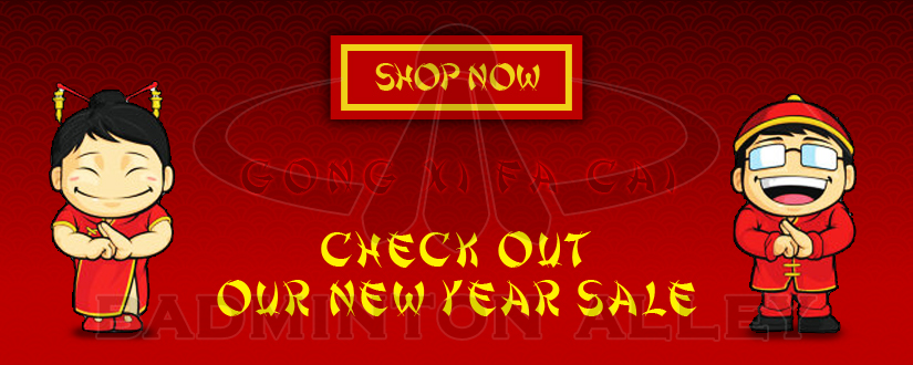 Badminton Alley Chinese New year / Lunar Year Sale