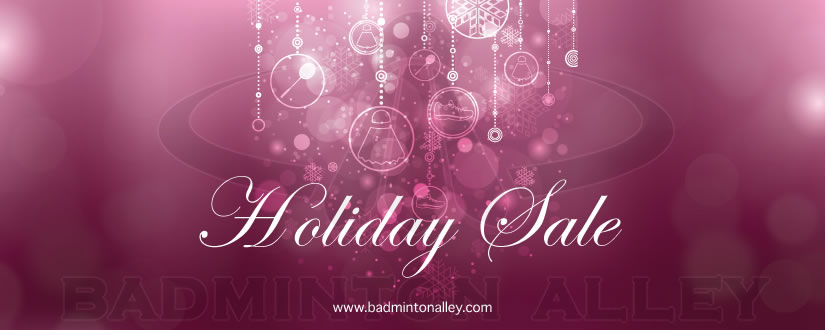 Badminton Alley - Christmas Sale 2013